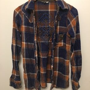 Unique one of a kind Flannel!